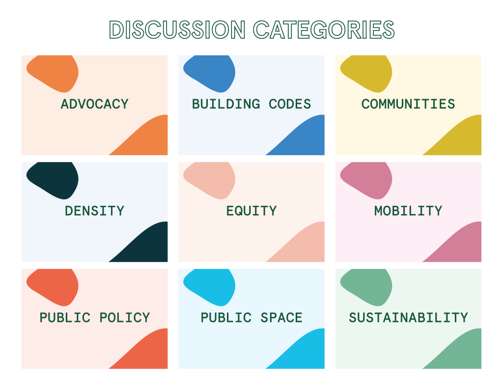 Ticco Discussion Categories
