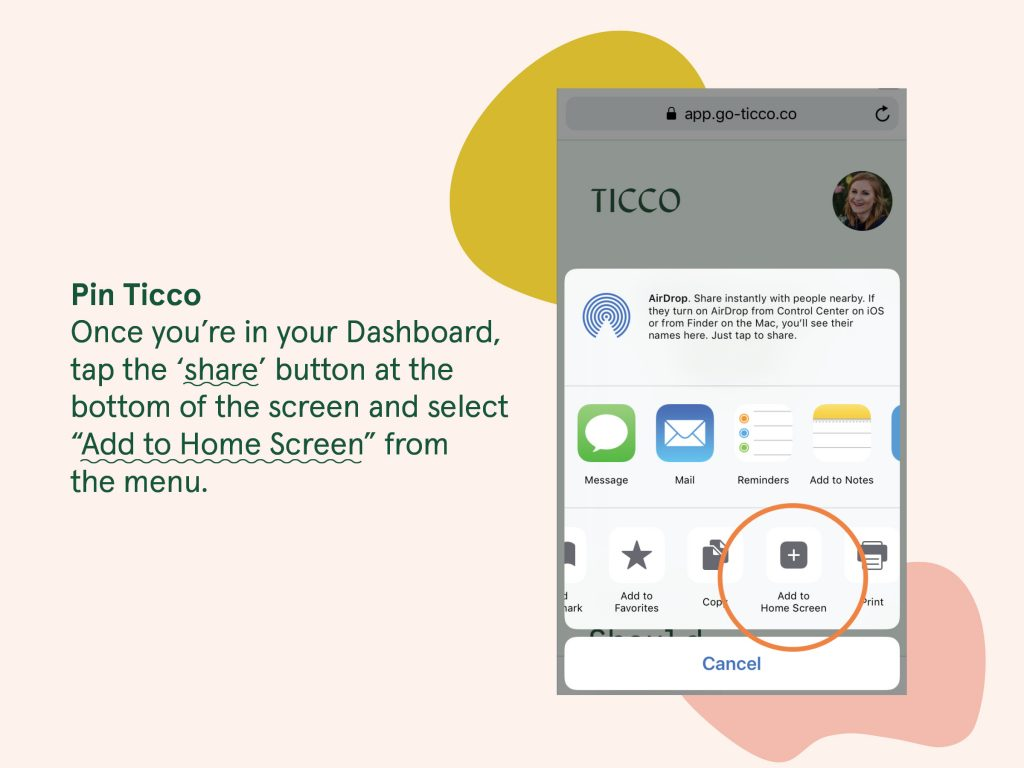 How To Pin Ticco
