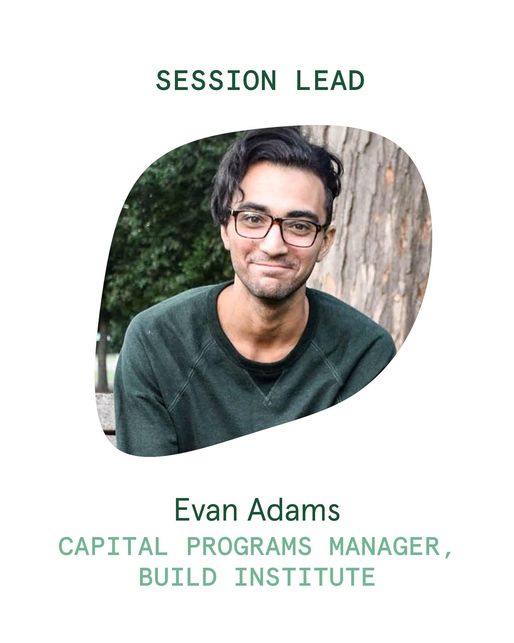 Session Lead_Evan Adams