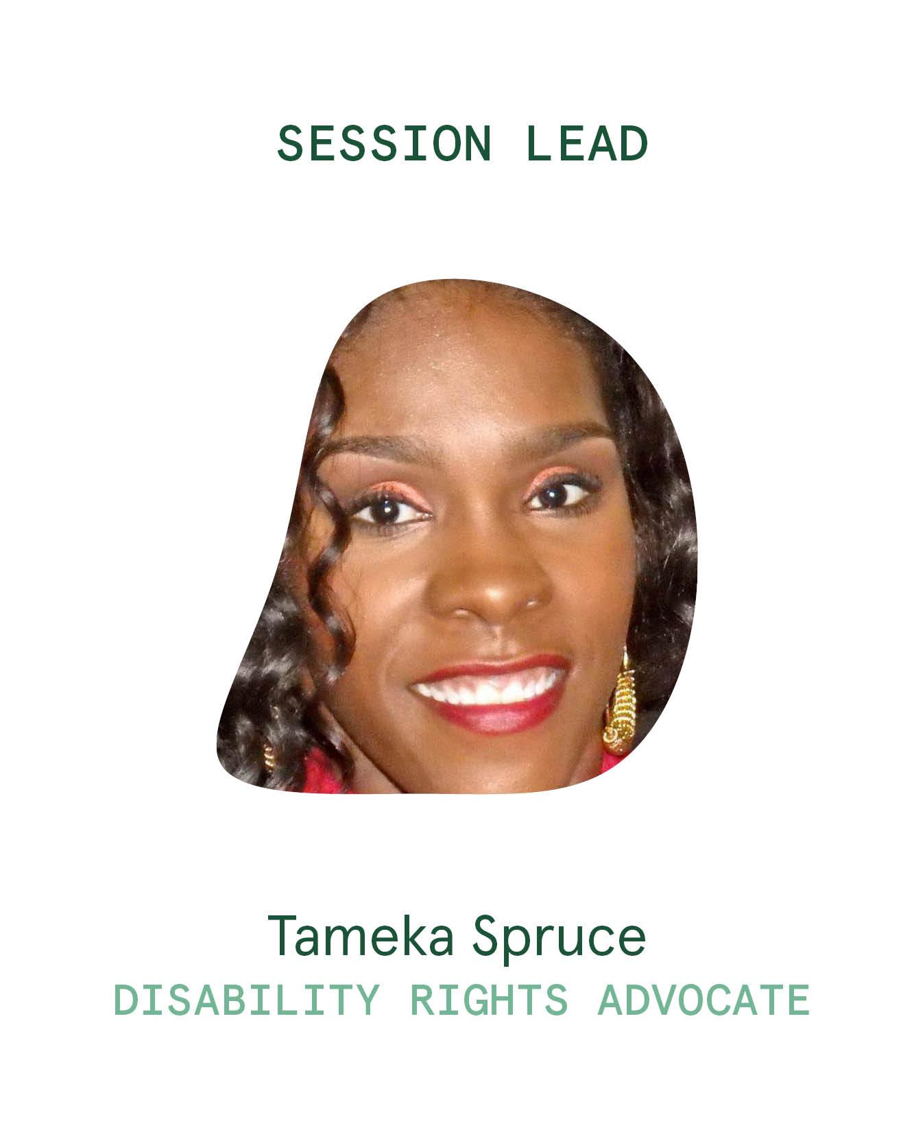 Session Lead_Tameka Spruce