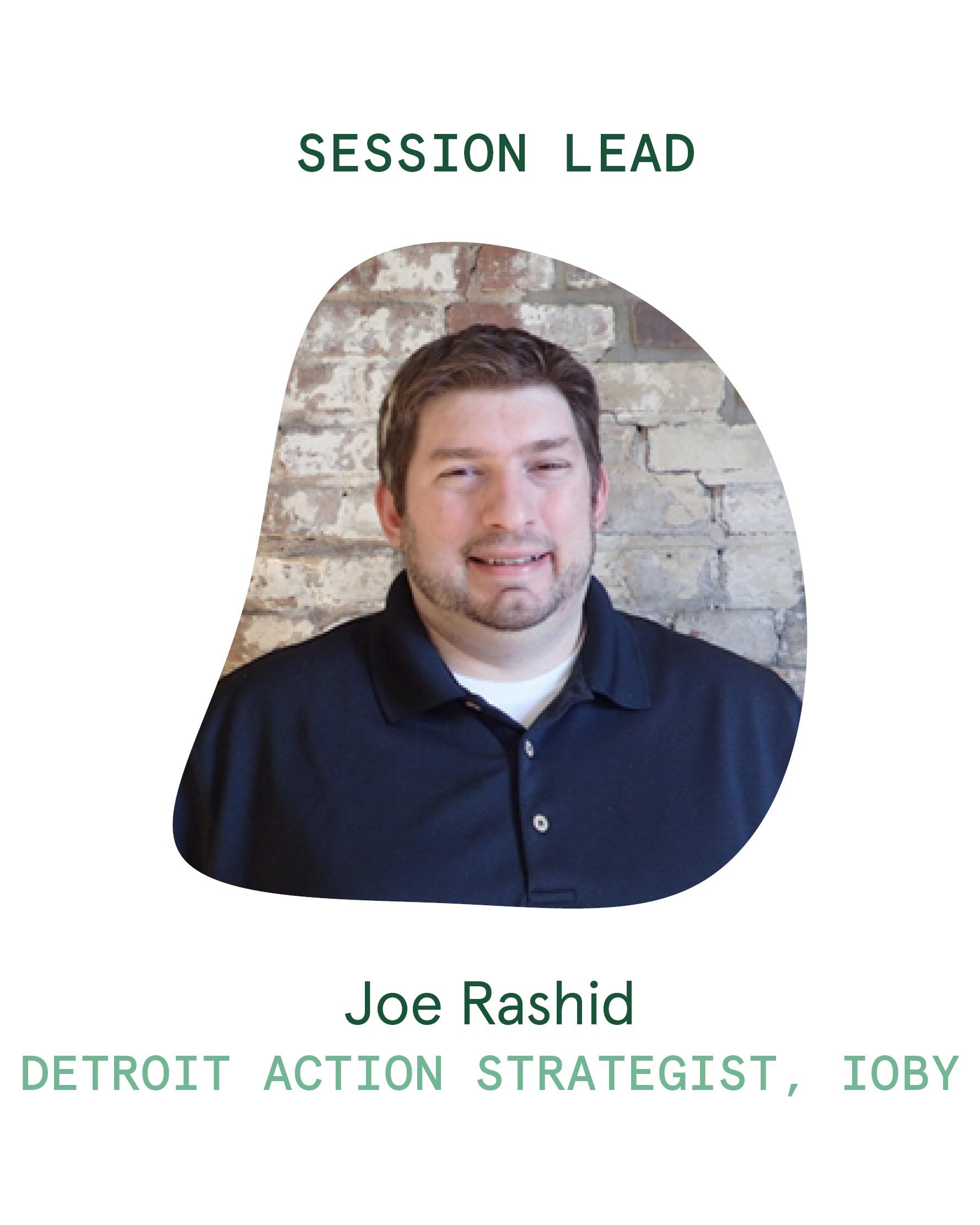 Session Lead_Joe Rashid
